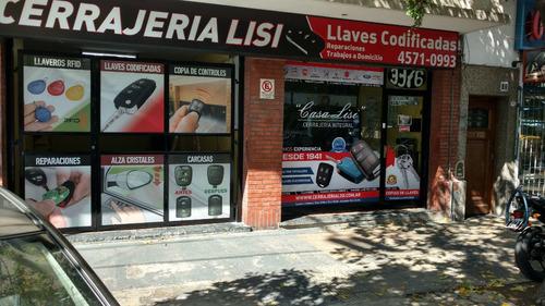 llaves codificadas, telemandos y carcasas - cerrajeria