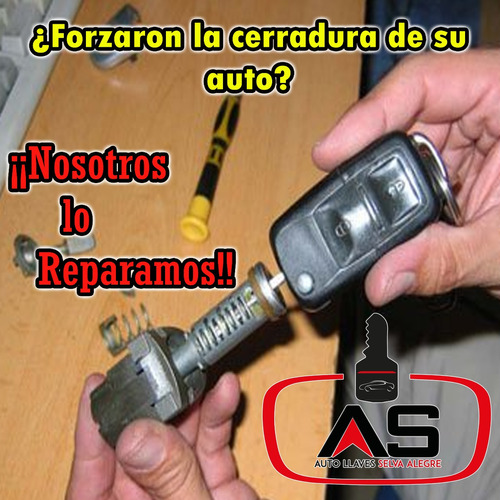 llaves con chip para autos vw peugeot nissan ford renault