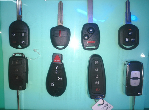 llaves con chip y controles reparacion - servicio técnico