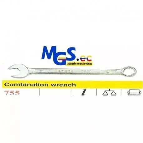 llaves de combinacion de acero cromo vanadio de 13mm force.
