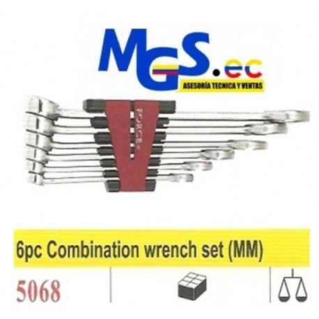 llaves de combinacion de acero cromo vanadio marca force.