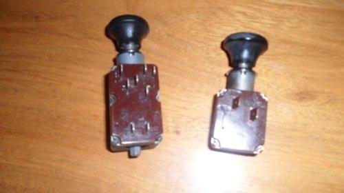 llaves de luces bmw de los 80!!!