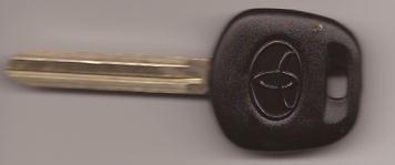 llaves de transponder con chip de automovil
