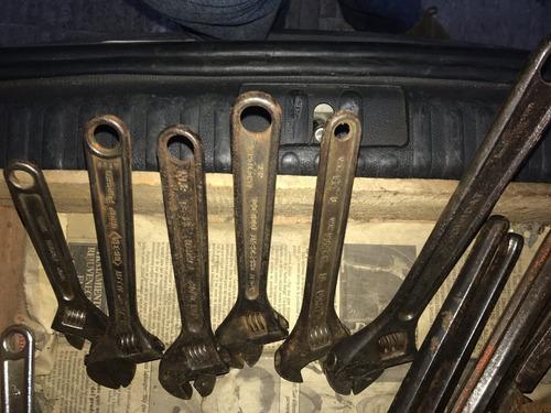 llaves francesa bahco made in sweden y england nro74, 73 72,