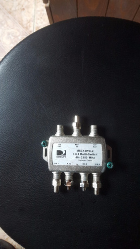llaves multiswicht de tv ,conexion a 4 receptores