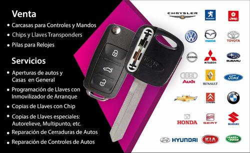 llaves para autos ,carcasas ,duplicados y programaciones