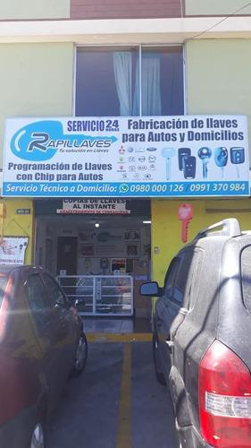 llaves para autos *con chip * rapillaves  0980000126