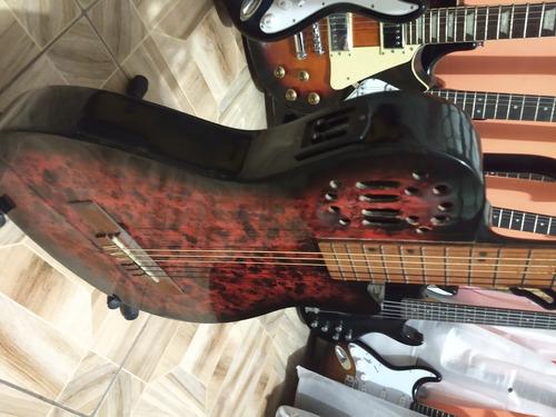llegaron guitarras electro acustica tipo godin sonidaso