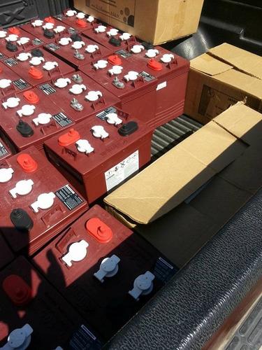 llegaron la bateria trojan roja t105 en oferta por solo 3650