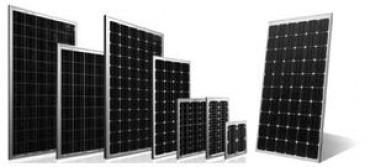 llegaron las baterías 12 voltios y los paneles solares