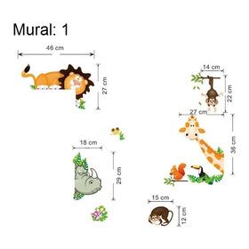 Llegaron Los Animales De La Selva, Decoración Mural