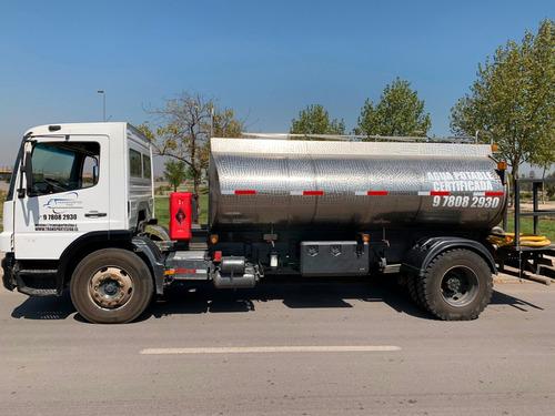 llenado de piscinas con camión aljibe certificado