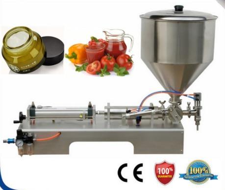 llenado de viscosos  mermeladas, pastas, geles 20-500ml