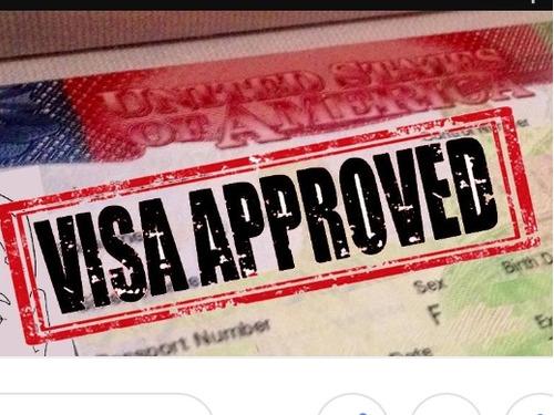 llenar formularios para obtener una visa