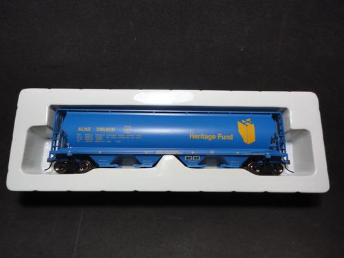llm alnx 396400 vagon tolva grain hopper car 52  bachmann ho