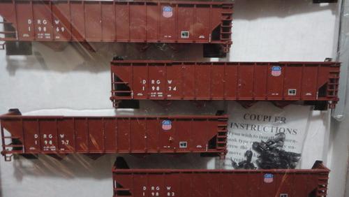 llm -set 6 vagones tolvas union pac   walthers 932-49451  h0