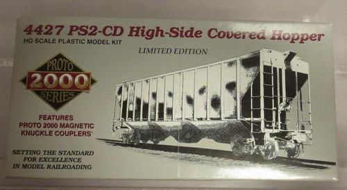 llm - vagon tolva ps2-cd high side c hopper proto 2000 ho