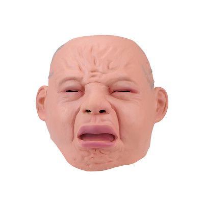 Llorando Diablo Cara Bebé Goma Máscaras Arriba Miedo 74990