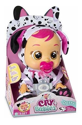 llorar bebes muñeca dotty