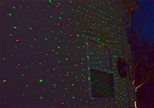 lluvia de estrellas laser navidad  proyector star shower