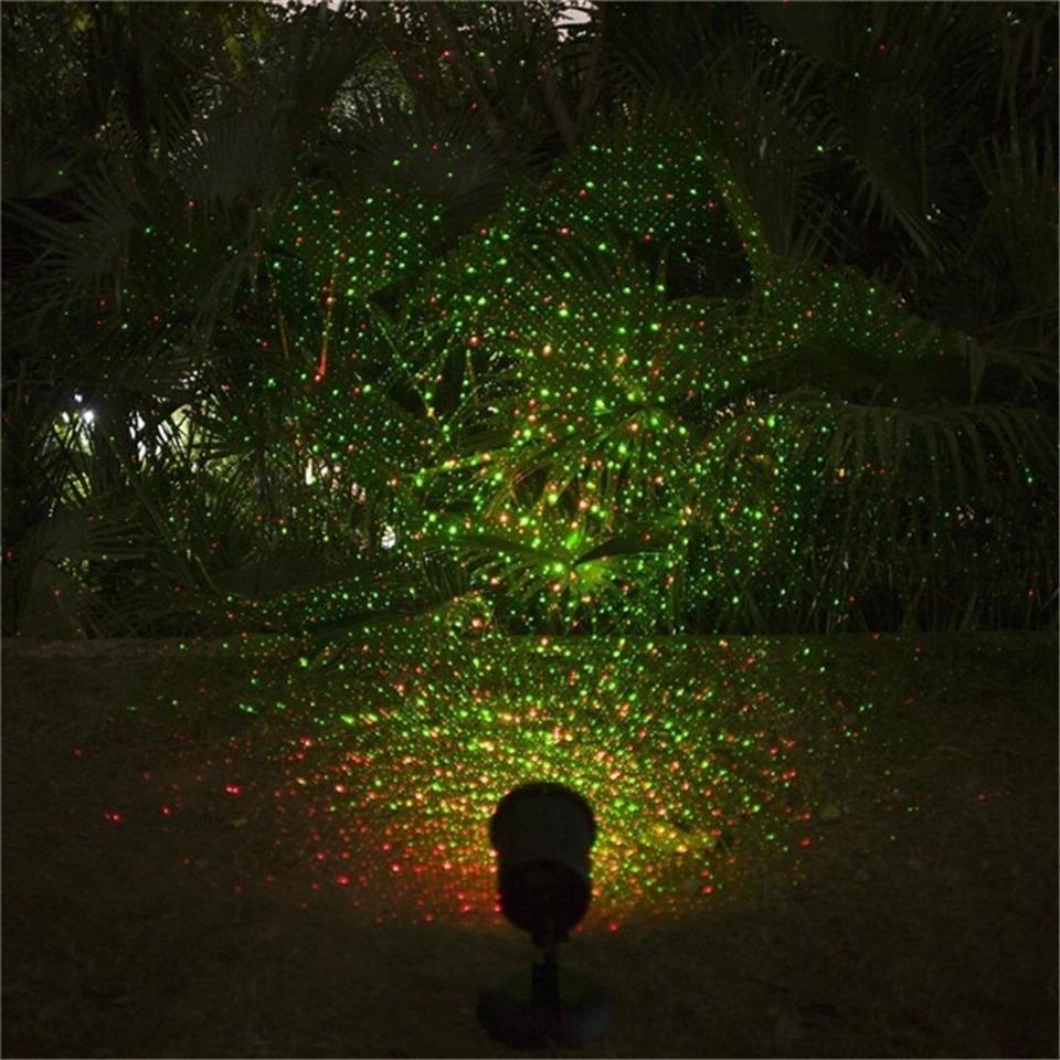Lluvia De Estrellas Proyector Movimiento Laser Star Shower
