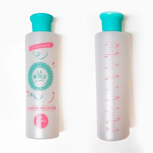 lluvia en botella dispenser almíbar humedecer la botica - cc