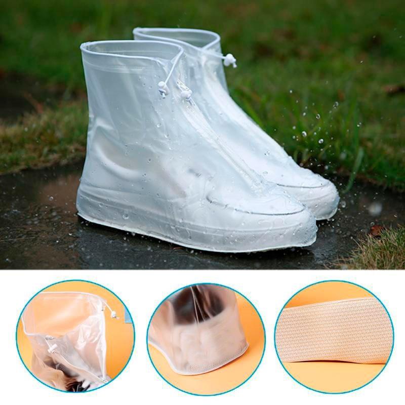 5a749eea3d6 Cargando zoom... bota impermeable para lluvia agua protector d zapatos tenis.  Cargando zoom.
