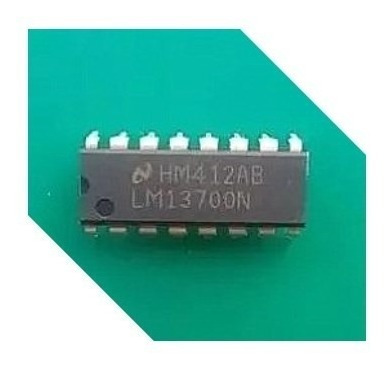 lm13700n circuito integrado lm13700