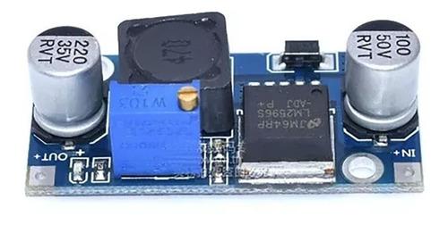 lm2596 modulo regulador de voltaje dc 1.25v- 30v | 2a-3a max