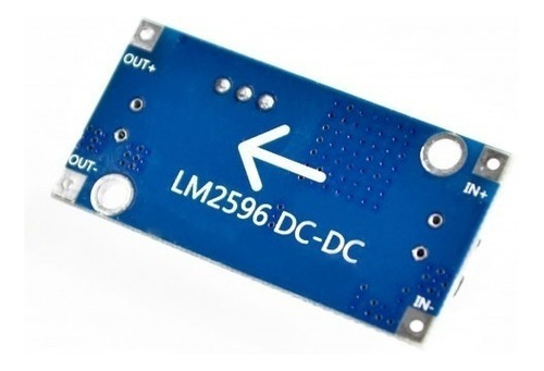 lm2596s modulo convertidor dc-dc step-down regulador voltaje