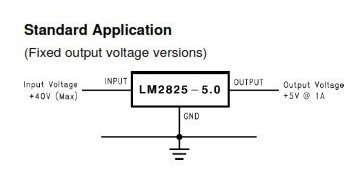lm2825 convertidor dc-dc regulable (4-40)vin  (1~8)vout