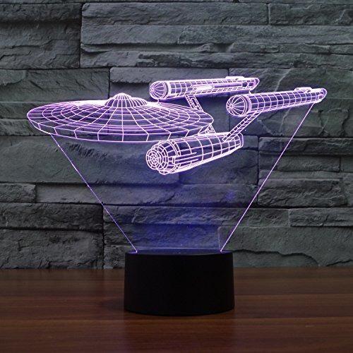 lmeison 3d night light illusion lampara led desk lampara de
