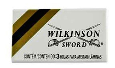 lâmina barbear inox wilkinson - 60 peças