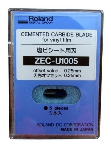 lâmina de corte uso geral 45° roland zec-u1005 - unidade