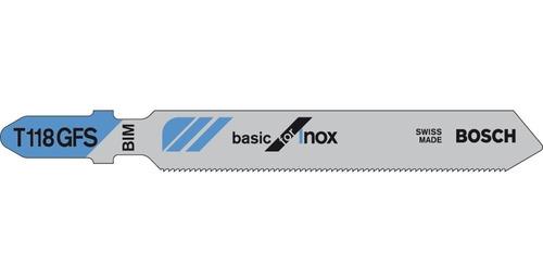 lâmina de serra tico-tico bosch inox t118gfs maquifer