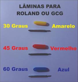Lâmina Plotter Recorte Roland Gcc Jinka Bannercut 30 45 60