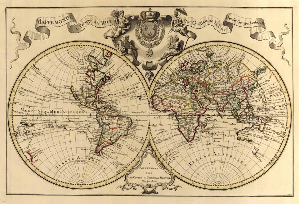 Làminas Mapas Antiguos Combo 10 Unidades 40x30 - $ 947,07 en Mercado ...