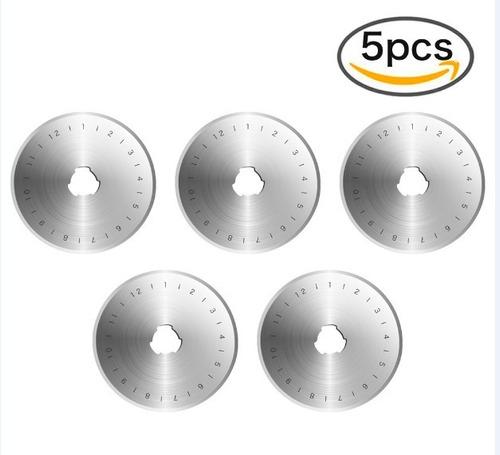lâminas para cortador circular 45mm (kit 05 lâminas)