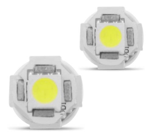 lâmpada 5 leds t10 pingo xenon torpedo alto brilho branca