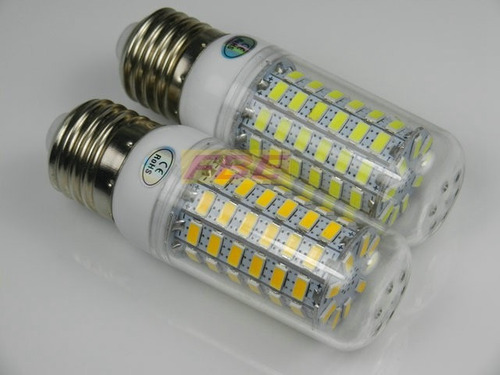 lâmpada 69 led  e27 8w ac 110v - branco