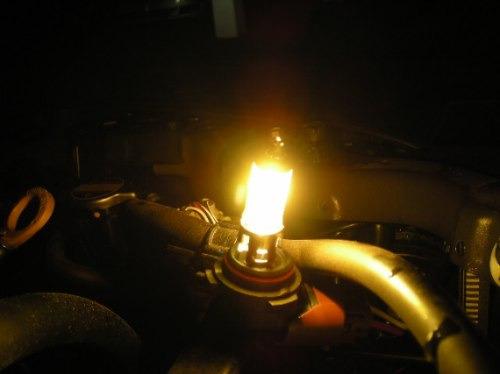 Lâmpada Amarela Efeito Xenon 55w 3000k Golden H1 H3 H11