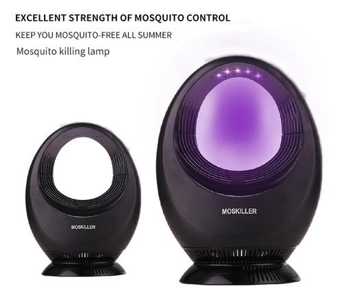 lâmpada assassina de mosquito fotocatalística doméstica com