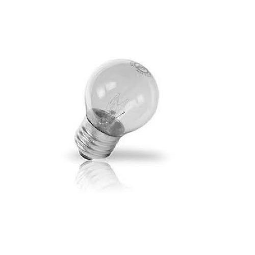 lâmpada bolinha 40w 127v forno fogão geladeira - 25 peças