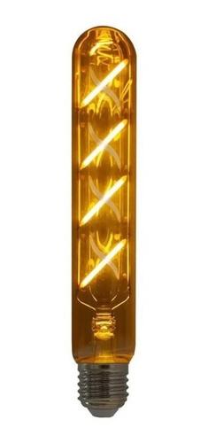 lâmpada de filamento led retro vintage t30  - 4w  - bivolt