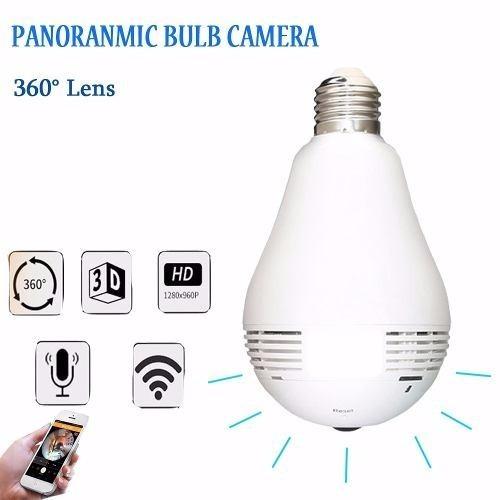 lâmpada espiã camera filmadora hd