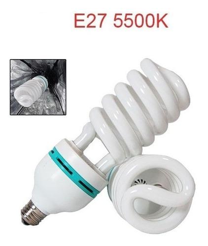 lâmpada fluorescente 135w 5500k estudio fotográfico branca