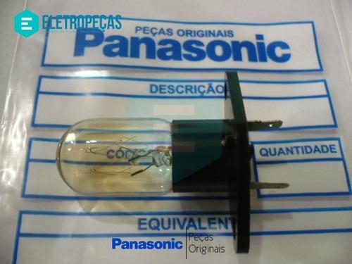 lâmpada forno microondas  127v panasonic original