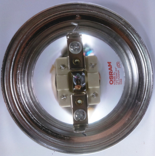 lâmpada halogena ar 111 50w x 12v. sem fonte