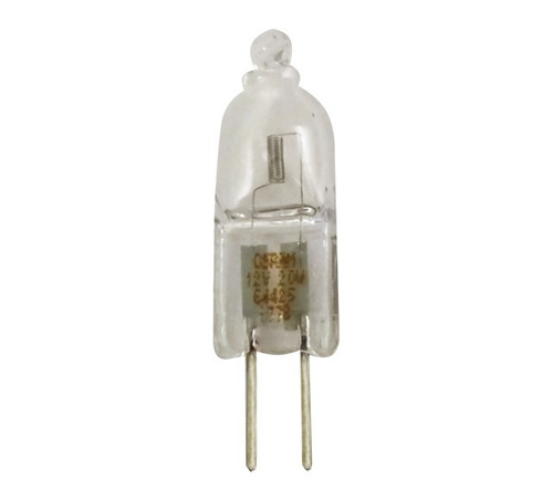 lâmpada halógena bi-pino 12v x 20w g4 halostar osram c/ 2un.