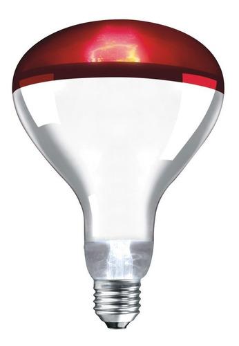 lâmpada infravermelho 250w - 220v - fisioterapia saúde
